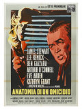 Anatomy of a Murder  Italian Movie Poster  1959