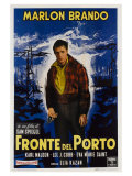On the Waterfront  Italian Movie Poster  1954