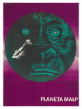 Planet of the Apes  Polish Movie Poster  1968