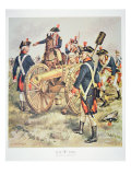 American Continental Army: Artillery Uniforms of 1777-83