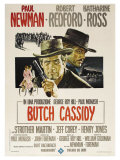 Butch Cassidy and the Sundance Kid  Italian Movie Poster  1969