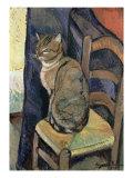 Study of a Cat  1918
