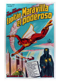 Adventures of Captain Marvel  Argentine Movie Poster  1941