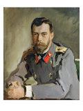 Portrait of Nicholas Ii  1900