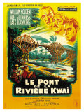 Bridge on the River Kwai  French Movie Poster  1958
