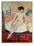 Nude with a Striped Blanket  1922