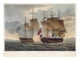 The Capture of Chesapeake  June 1st 1813  engraved by Bailey for J Jenkins's 'Naval Achievements'