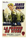 Rebel Without a Cause  French Movie Poster  1955