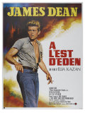 East of Eden  French Movie Poster  1955