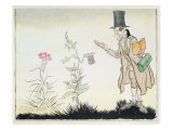 The Professor  Illustration to 'Ada's Little Flowers' from Fairy Tales by Hans Christian Andersen