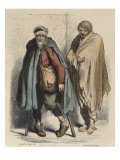 Beggars  after Jacques Callot