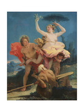 Apollo and Daphne  c1743-44