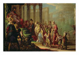 Solomon and the Queen of Sheba  or Esther before Ahasuerus  1624