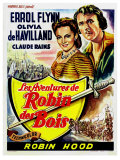 The Adventures of Robin Hood  Belgian Movie Poster  1938