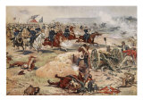 General Sheridan's Final Charge at Winchester  September 19th 1864