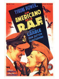 A Yank in the RAF  Spanish Movie Poster  1953
