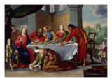 Christ in the House of Simon the Pharisee  c1635