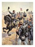 General Mcclelland at the Battle of Antietam September 17th 1862