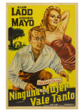 The Iron Mistress  Argentine Movie Poster  1952