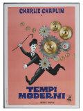 Modern Times  Italian Movie Poster  1936
