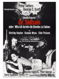 Dr Strangelove  German Movie Poster  1964
