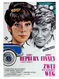 Two for the Road  German Movie Poster  1967