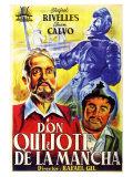 Don Quixote  Spanish Movie Poster  1934
