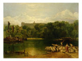 Windsor Castle from the Thames  c1805