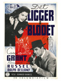 His Girl Friday  Swedish Movie Poster  1940