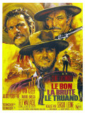 The Good  The Bad and The Ugly  French Movie Poster  1966
