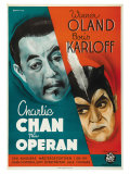 Charlie Chan at the Opera  Swedish Movie Poster  1936
