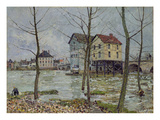 The Mills at Moret-sur-Loing  Winter  1890