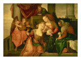 The Mystic Marriage of Saint Catherine  c1548