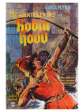 The Adventures of Robin Hood  German Movie Poster  1938