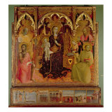 Altarpiece of the Madonna of the Snow  c1430-32