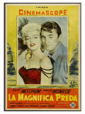 River of No Return  Italian Movie Poster  1954
