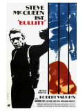 Bullitt  German Movie Poster  1968