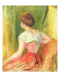 Young Woman Seated  1896
