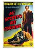I Confess  Argentine Movie Poster  1953