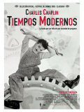 Modern Times  Spanish Movie Poster  1936
