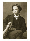 Portrait of Lewis Carroll  28th March 1863