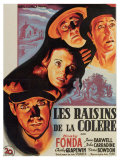 The Grapes of Wrath  French Movie Poster  1940