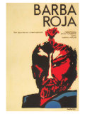 Red Beard  Cuban Movie Poster  1964