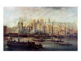 The Burning of the Houses of Parliament  16th October 1834