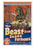 The Beast From 20 000 Fathoms  Australian Movie Poster  1953