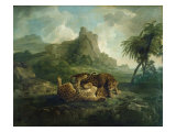 Leopards at Play  c1763-8