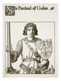 Sir Percival of Gales  Illustration from 'The Story of the Champions of the Round Table'
