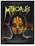 Metropolis  French Movie Poster  1926