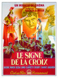 The Sign of the Cross  French Movie Poster  1932