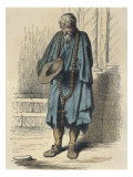 Beggar  after Jacques Callot